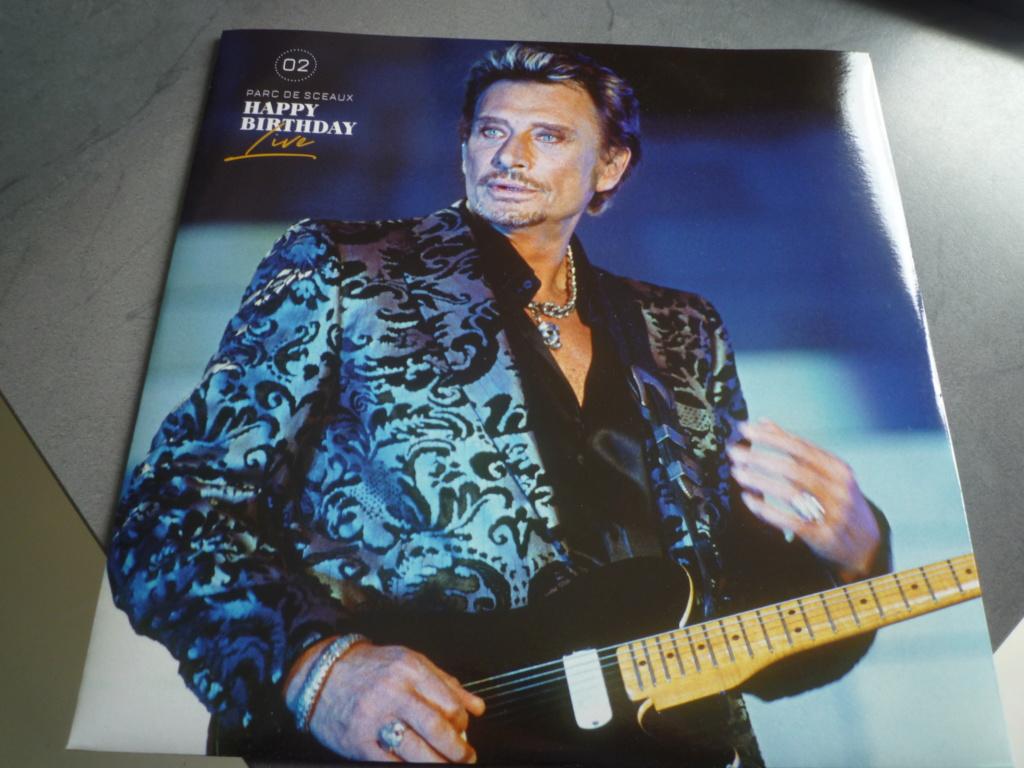"""coffret quadruple 33 tours """"Johnny Hallyday, happy birthday""""édité par Mercury P1610931"""