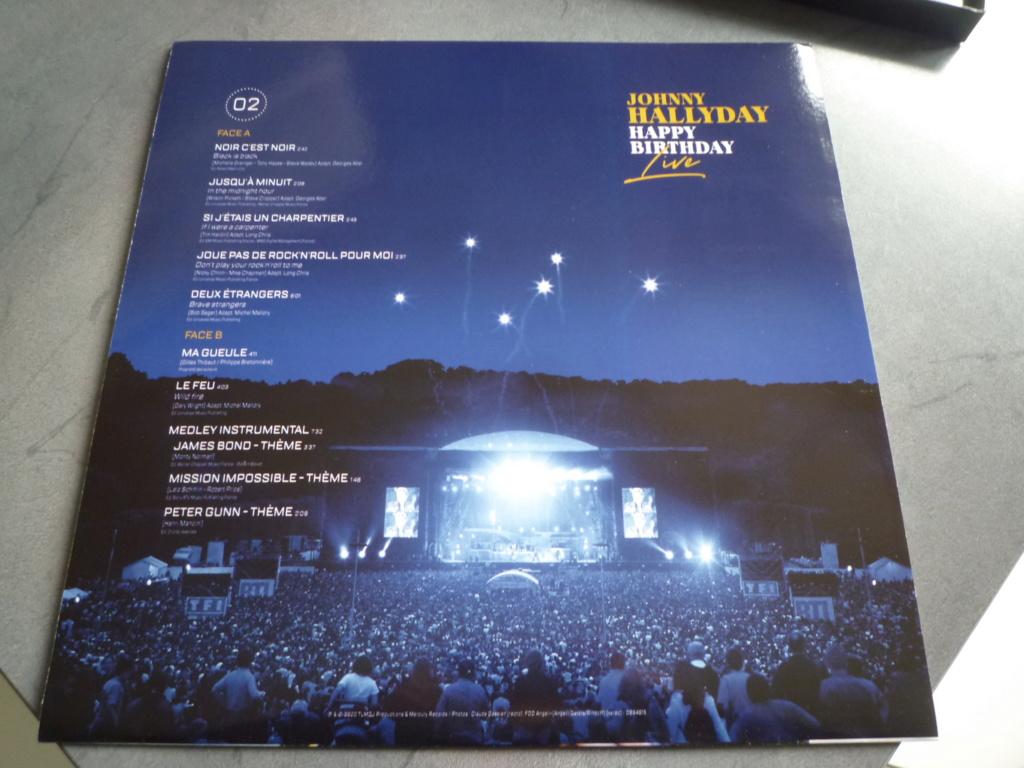"""coffret quadruple 33 tours """"Johnny Hallyday, happy birthday""""édité par Mercury P1610932"""