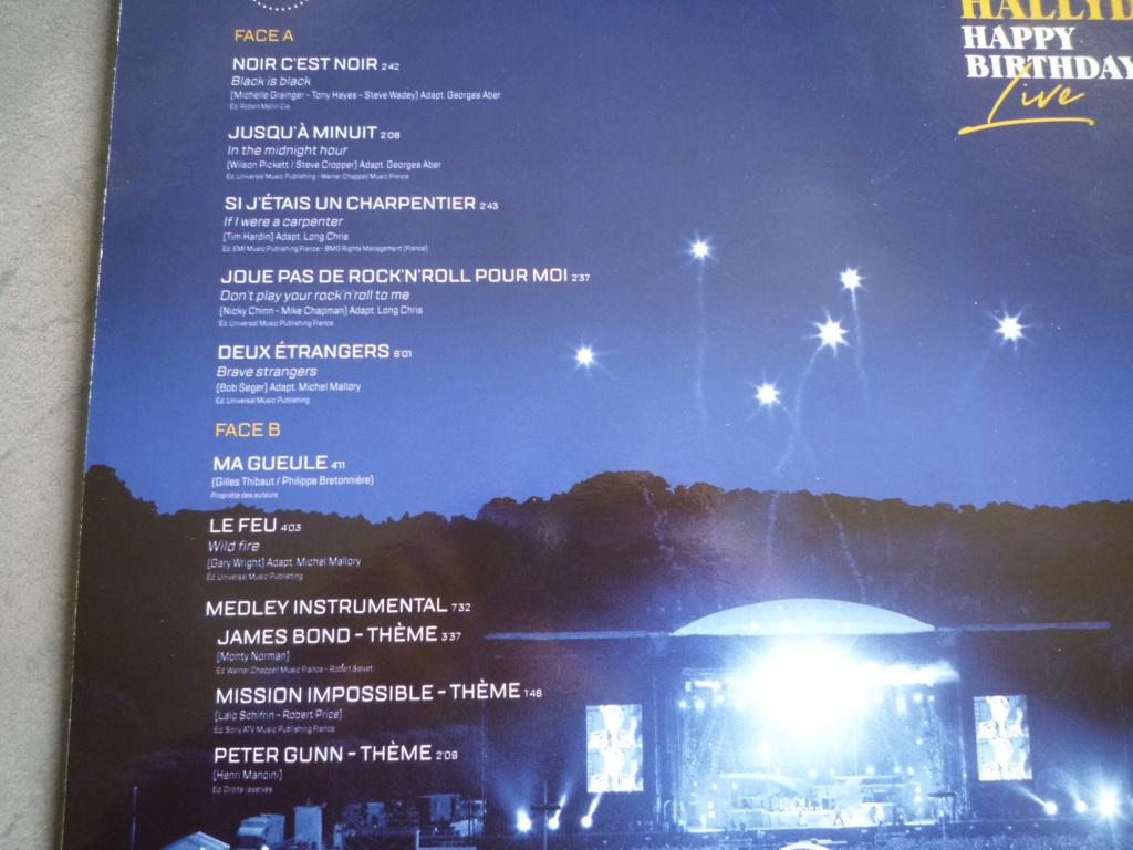 """coffret quadruple 33 tours """"Johnny Hallyday, happy birthday""""édité par Mercury P1610933"""