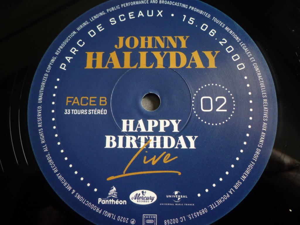 """coffret quadruple 33 tours """"Johnny Hallyday, happy birthday""""édité par Mercury P1610934"""