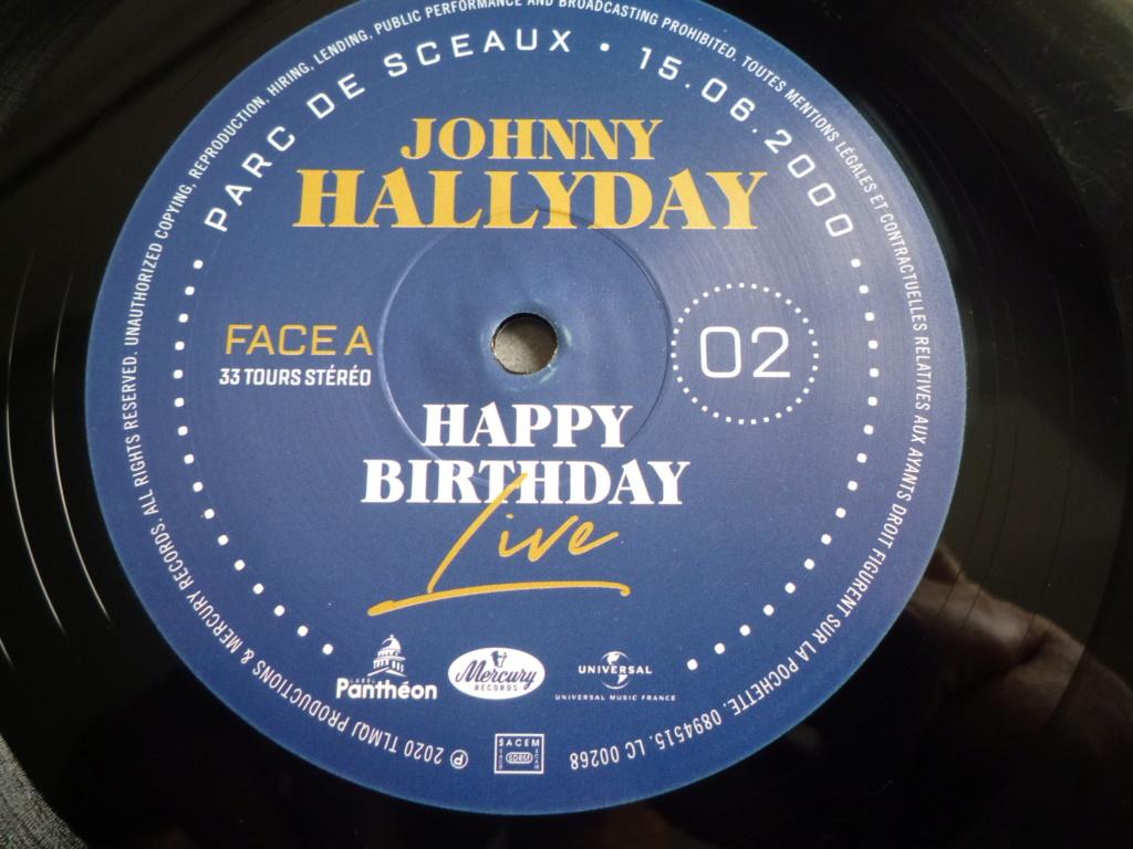 """coffret quadruple 33 tours """"Johnny Hallyday, happy birthday""""édité par Mercury P1610935"""