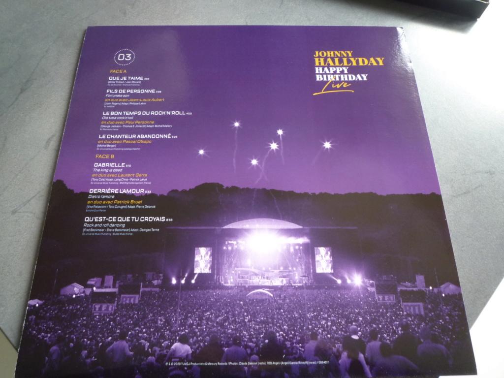 """coffret quadruple 33 tours """"Johnny Hallyday, happy birthday""""édité par Mercury P1610936"""