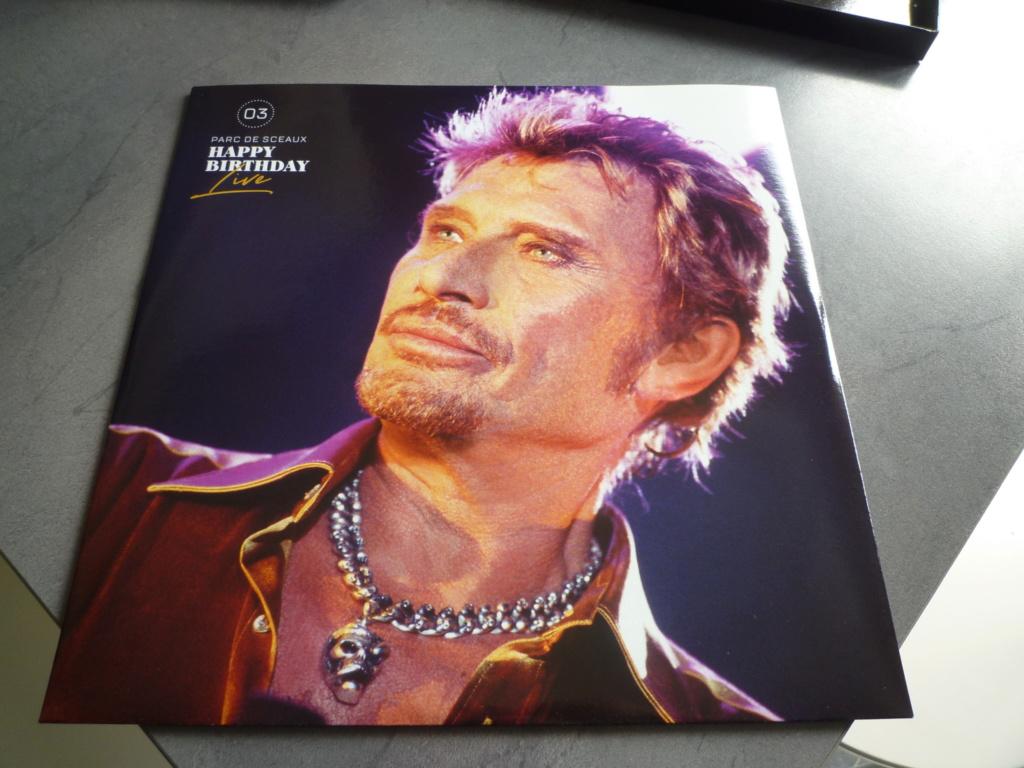 """coffret quadruple 33 tours """"Johnny Hallyday, happy birthday""""édité par Mercury P1610937"""