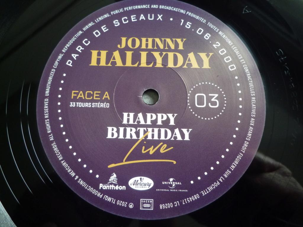 """coffret quadruple 33 tours """"Johnny Hallyday, happy birthday""""édité par Mercury P1610939"""