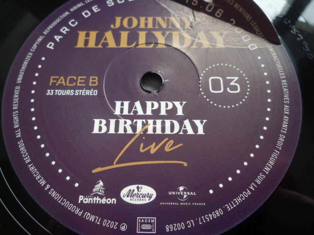 """coffret quadruple 33 tours """"Johnny Hallyday, happy birthday""""édité par Mercury P1610940"""