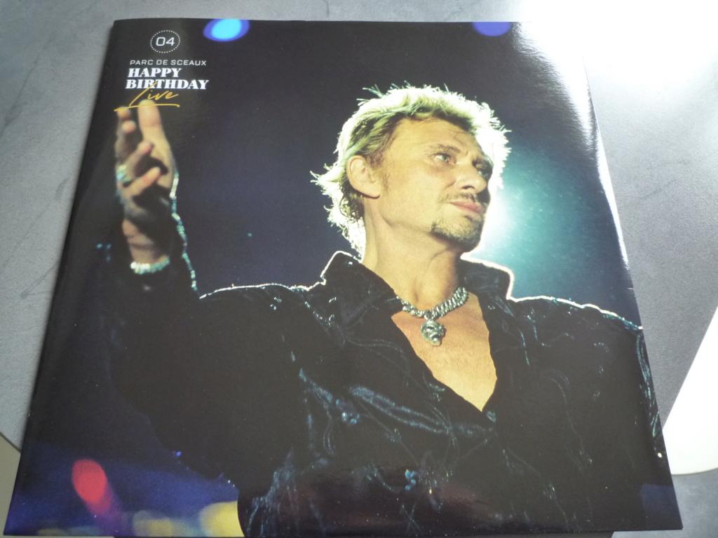 """coffret quadruple 33 tours """"Johnny Hallyday, happy birthday""""édité par Mercury P1610941"""
