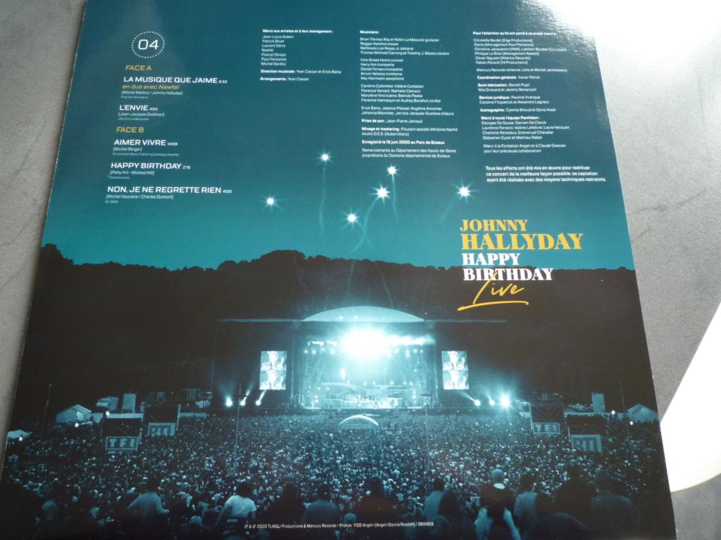 """coffret quadruple 33 tours """"Johnny Hallyday, happy birthday""""édité par Mercury P1610942"""