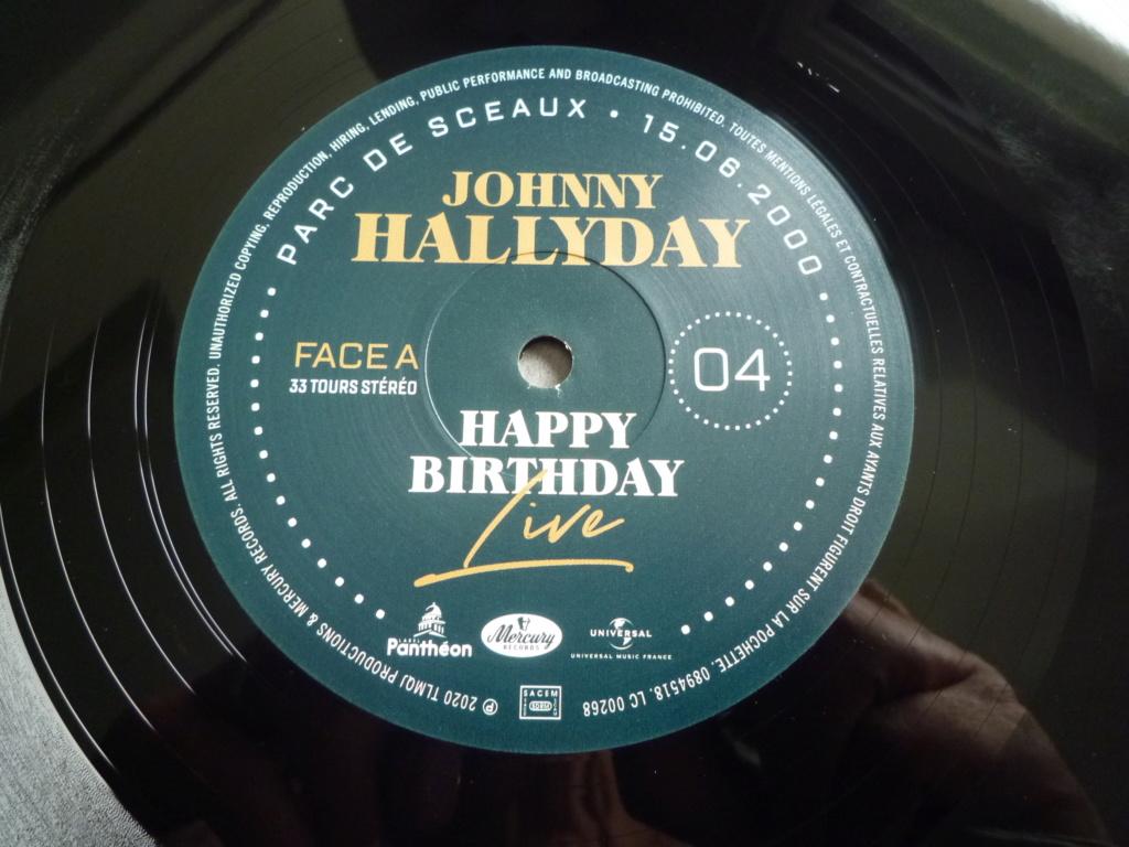 """coffret quadruple 33 tours """"Johnny Hallyday, happy birthday""""édité par Mercury P1610944"""
