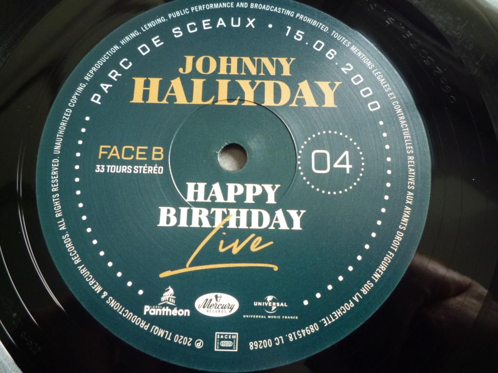 """coffret quadruple 33 tours """"Johnny Hallyday, happy birthday""""édité par Mercury P1610945"""