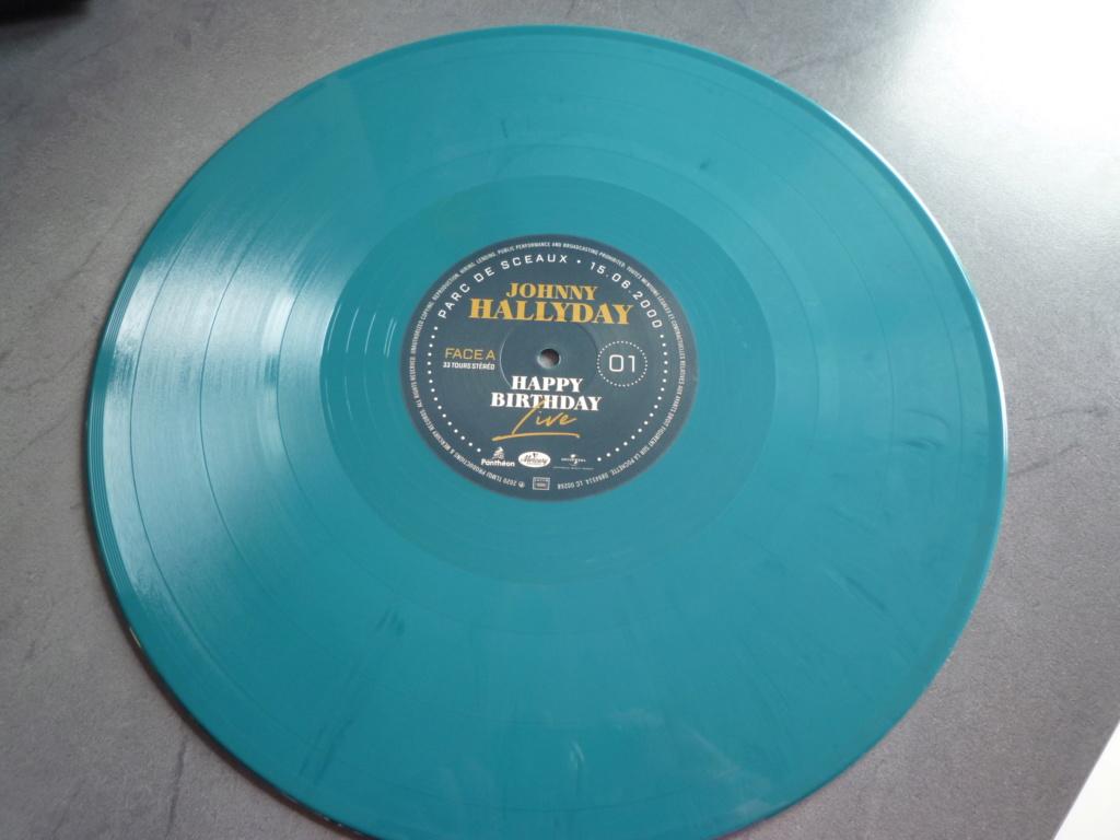 """coffret quadruple 33 tours """"Johnny Hallyday, happy birthday""""édité par Mercury P1610950"""