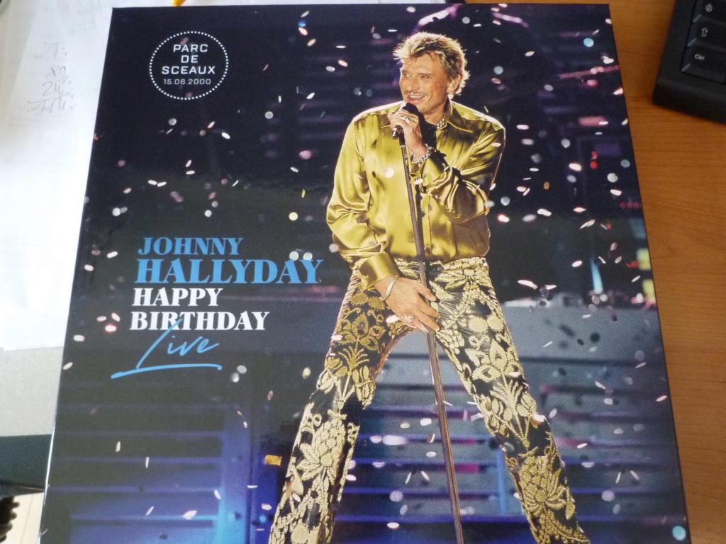 """coffret quadruple 33 tours """"Johnny Hallyday, happy birthday""""édité par Mercury P1610951"""
