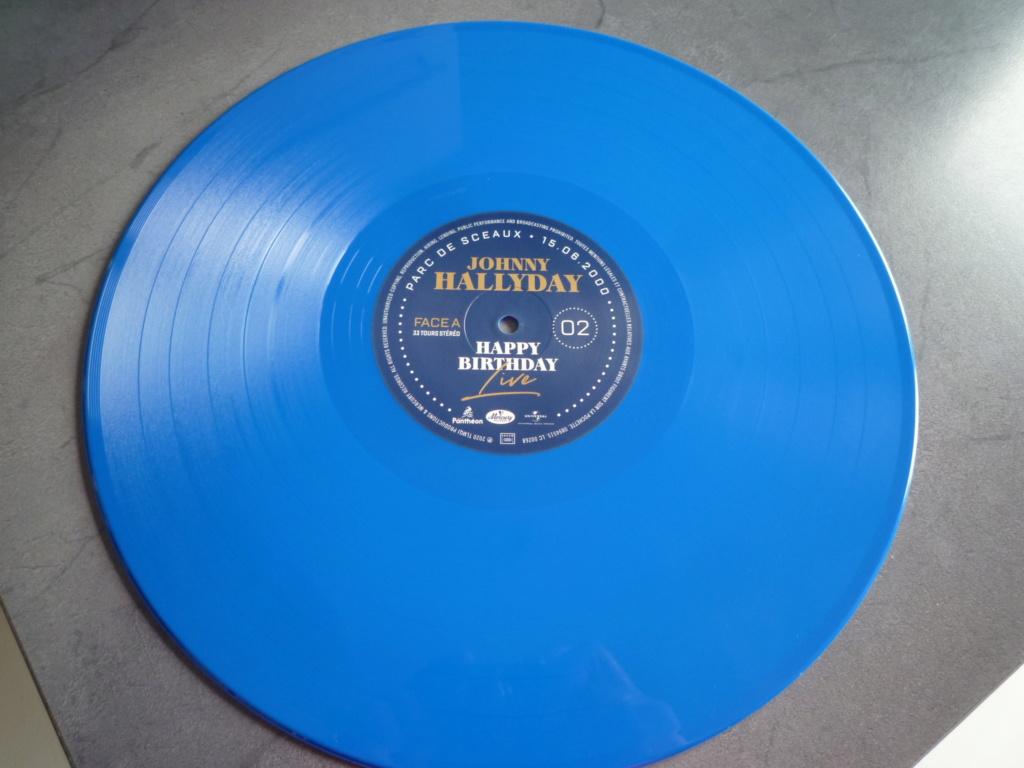 """coffret quadruple 33 tours """"Johnny Hallyday, happy birthday""""édité par Mercury P1610952"""
