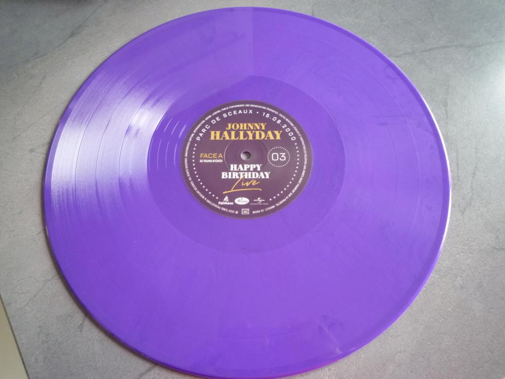 """coffret quadruple 33 tours """"Johnny Hallyday, happy birthday""""édité par Mercury P1610953"""