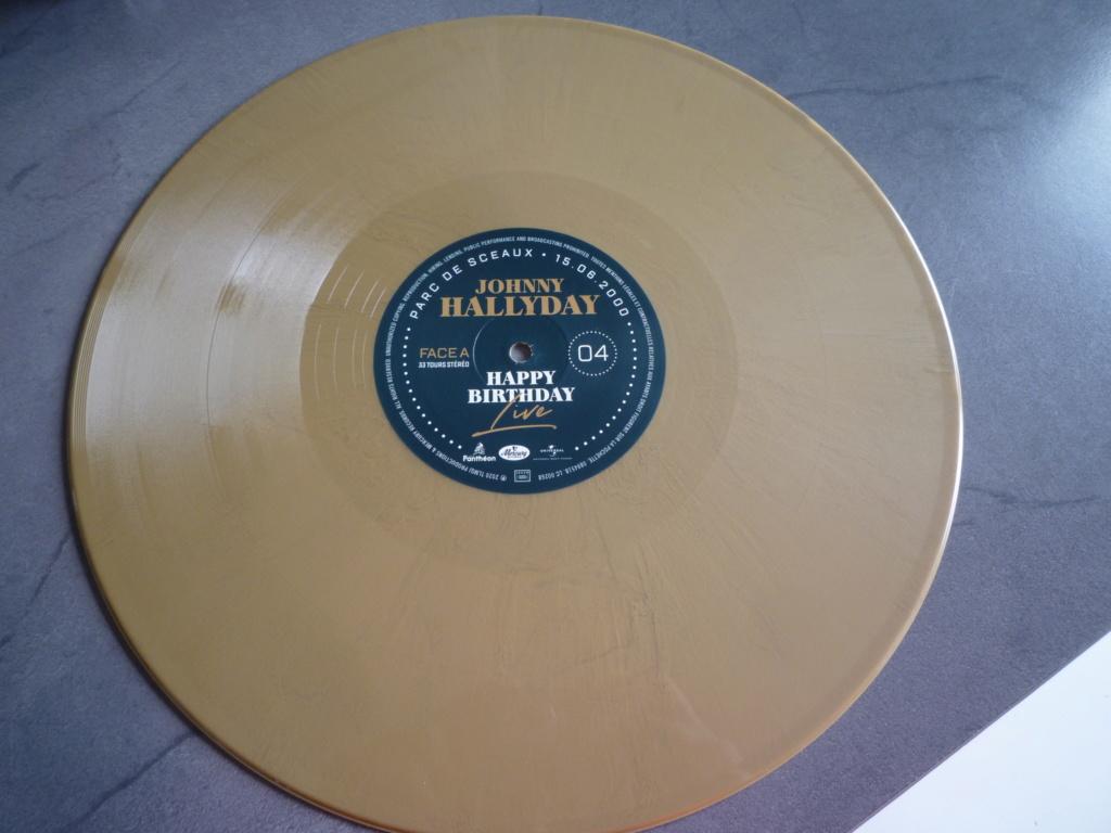 """coffret quadruple 33 tours """"Johnny Hallyday, happy birthday""""édité par Mercury P1610954"""