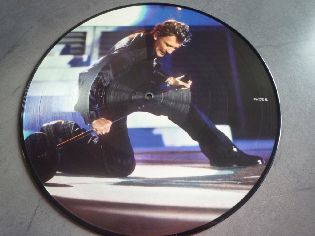 "picture disc, 33 tours ""Johnny HALLYDAY, happy birthday live"" édité par Mercury P1610960"