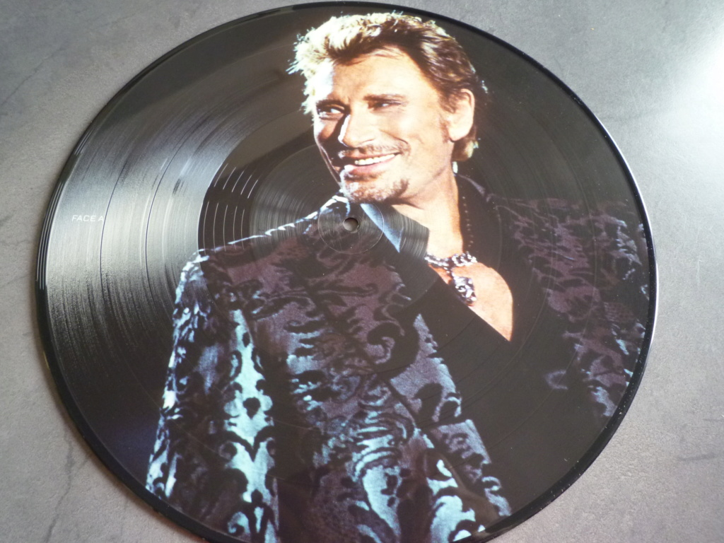 "picture disc, 33 tours ""Johnny HALLYDAY, happy birthday live"" édité par Mercury P1610961"