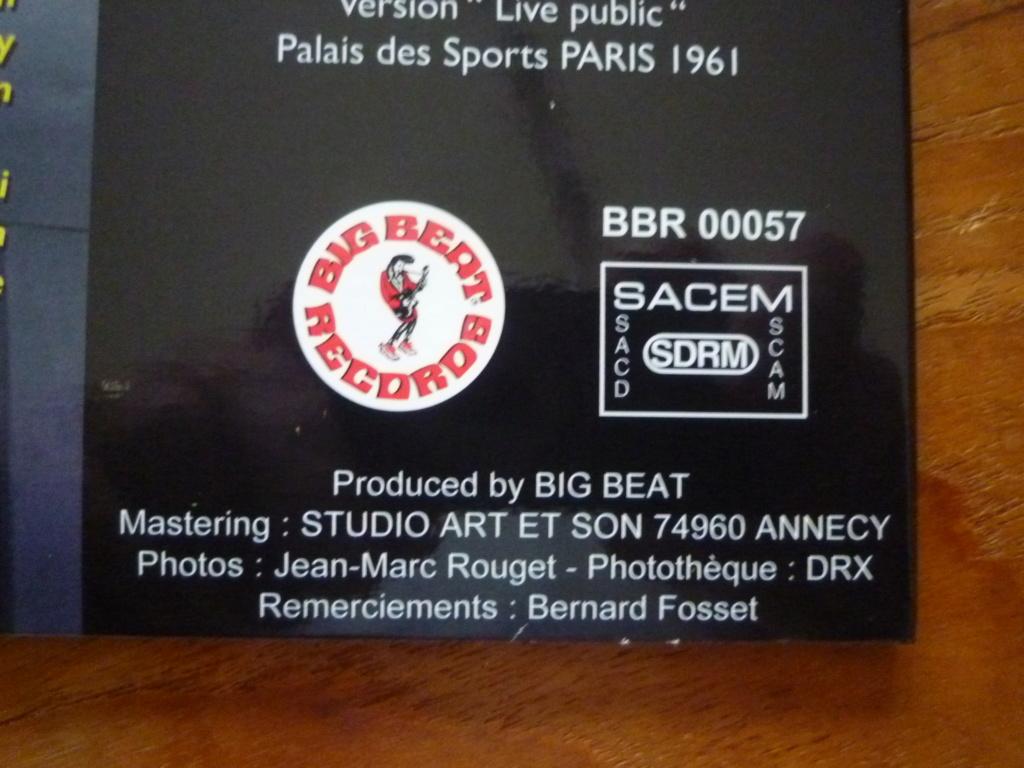 """25cm-33 tours """"dossier 1413"""" édité par BIG BEAT RECORDS P1610979"""