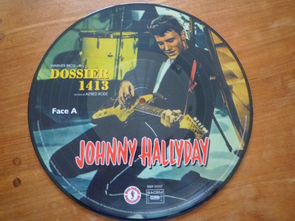 """25cm-33 tours """"dossier 1413"""" édité par BIG BEAT RECORDS P1610982"""