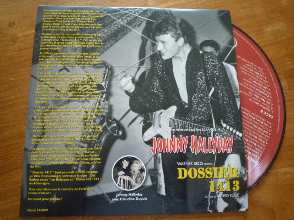 """25cm-33 tours """"dossier 1413"""" édité par BIG BEAT RECORDS P1610983"""