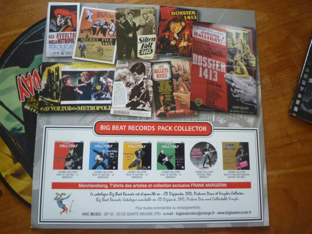 """25cm-33 tours """"dossier 1413"""" édité par BIG BEAT RECORDS P1610984"""