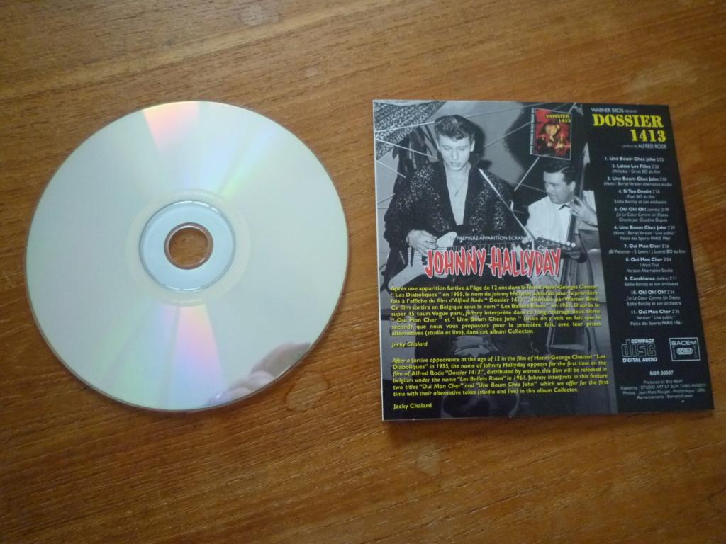 """25cm-33 tours """"dossier 1413"""" édité par BIG BEAT RECORDS P1610985"""