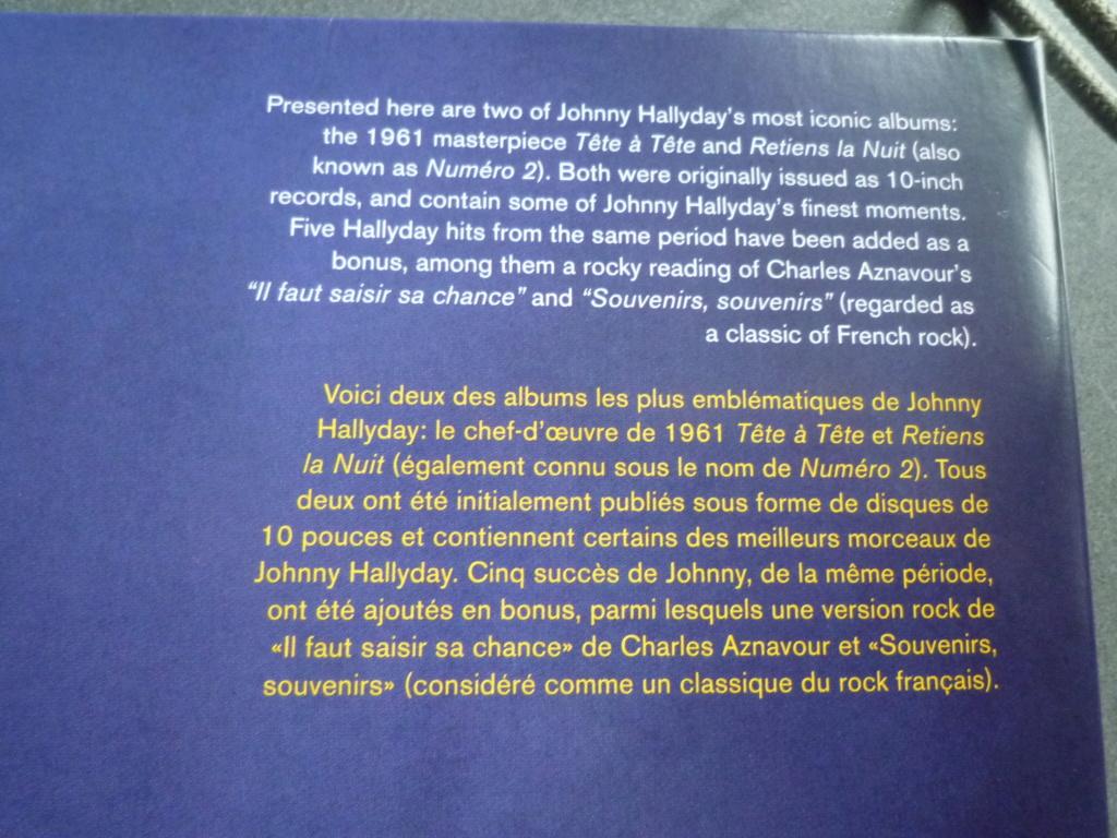 """33 tours """"tête à tête plus retiens la nuit"""" édité par French Connection P1610999"""
