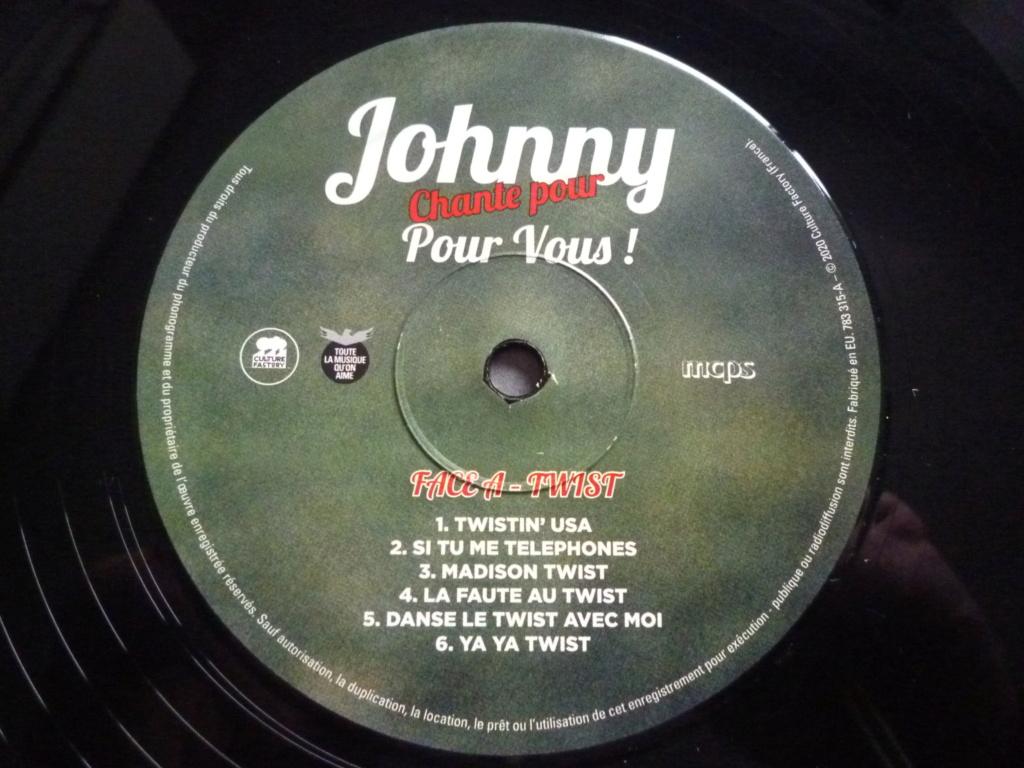 """33 tours """"Johnny chante pour ......."""" édité par LMLR P1620137"""