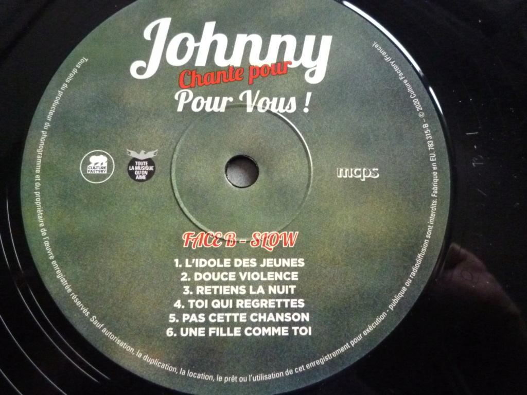 """33 tours """"Johnny chante pour ......."""" édité par LMLR P1620138"""