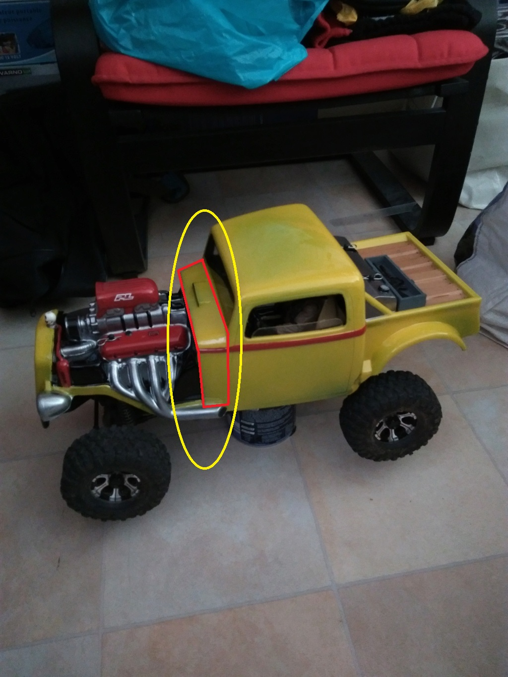 Carrosserie Hot Rod sur Chassis TRX-4 by Ruru - Page 2 Propal10