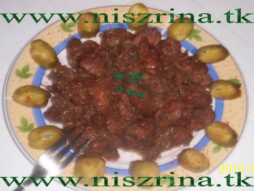 وصفة كبدة دجاج على طريقة برويو Ficatei a la Bruiu Ficate10