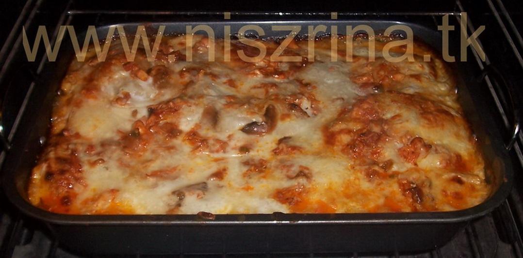 Lazania -  Lasagne وصفة لازانيا Niszri16