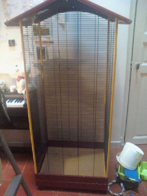 Cage + accessoires 10081510