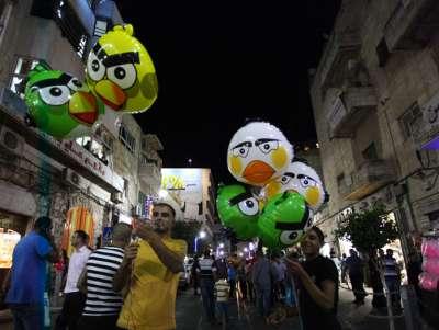 اجواء العيد في رام الله .. شاهد الصور 39098110