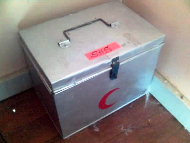 barang-barang antik kat klinik. 16-09-14