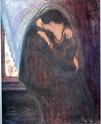 Edvard Munch [peintre/graveur] Baiser11