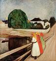 Edvard Munch [peintre/graveur] Girlso10