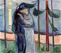 Edvard Munch [peintre/graveur] Kuss_a10