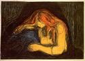 Edvard Munch [peintre/graveur] Vampir10