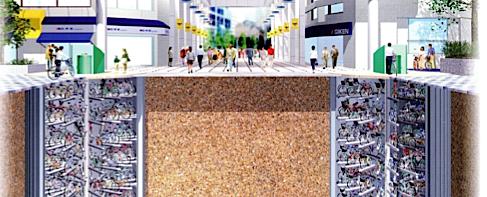 Innovation de la gestion des parkings vélos au Japon  Une_ec10