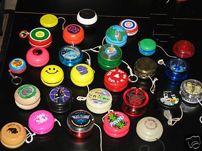 [CONCLUSA VINTA]ebay  280299982761 Lot of 28 yoyos many kinds, some collectible - scad Jan-12-09 19:38:57 PST 3b5a_110