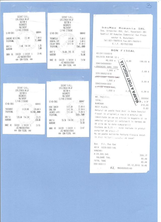 JUSTIFICATIFS DE VOS DONS (factures des dépenses) Factur20