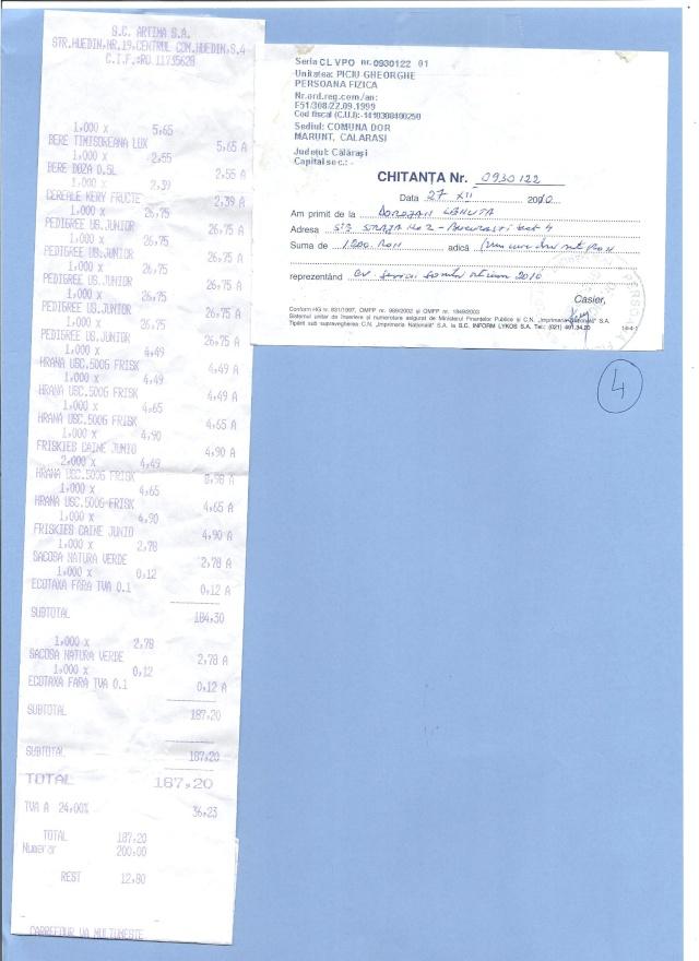JUSTIFICATIFS DE VOS DONS (factures des dépenses) Factur21