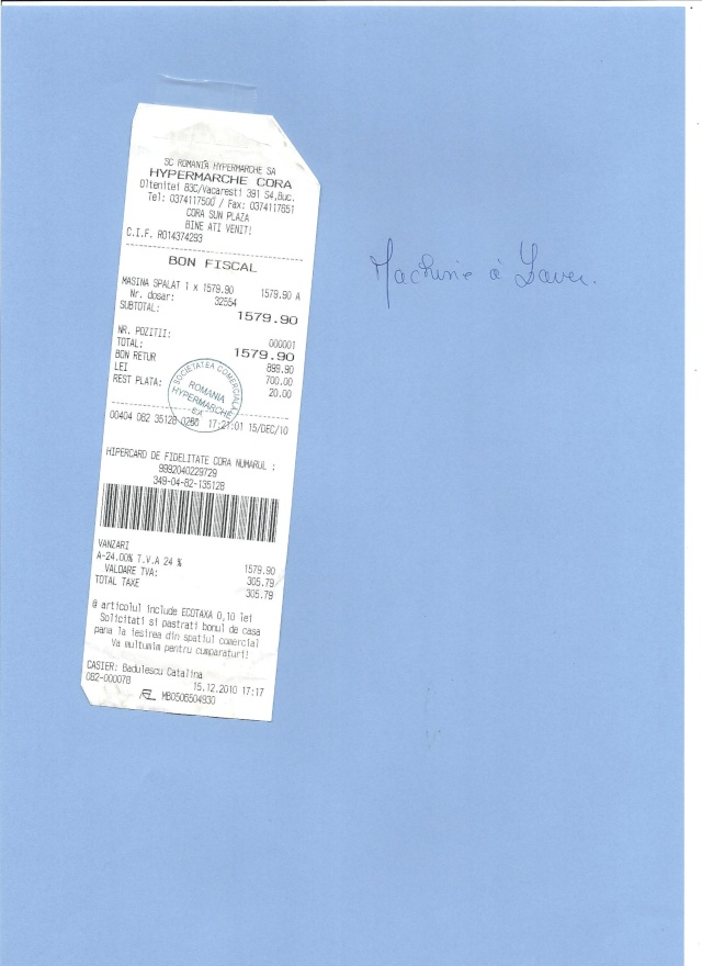 JUSTIFICATIFS DE VOS DONS (factures des dépenses) Factur23