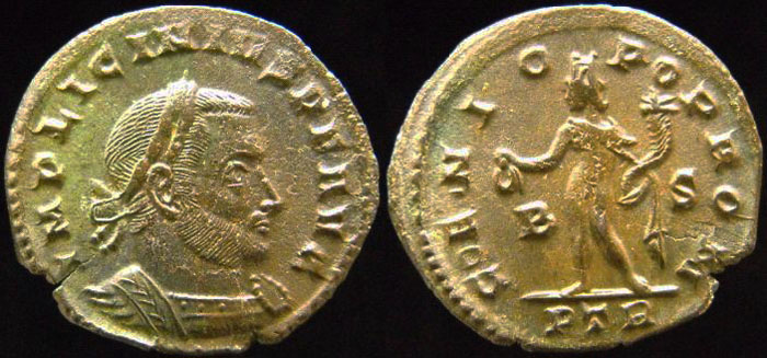 TREVES - LICINIUS Ier - Genio Pop Rom 410