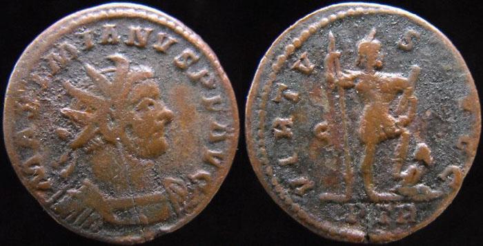 Aureliani pour Trèves de Dioclétien et de ses corégents  Maximi11