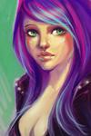 "Megara - Première ""geek"" d'Ishtar Purple11"