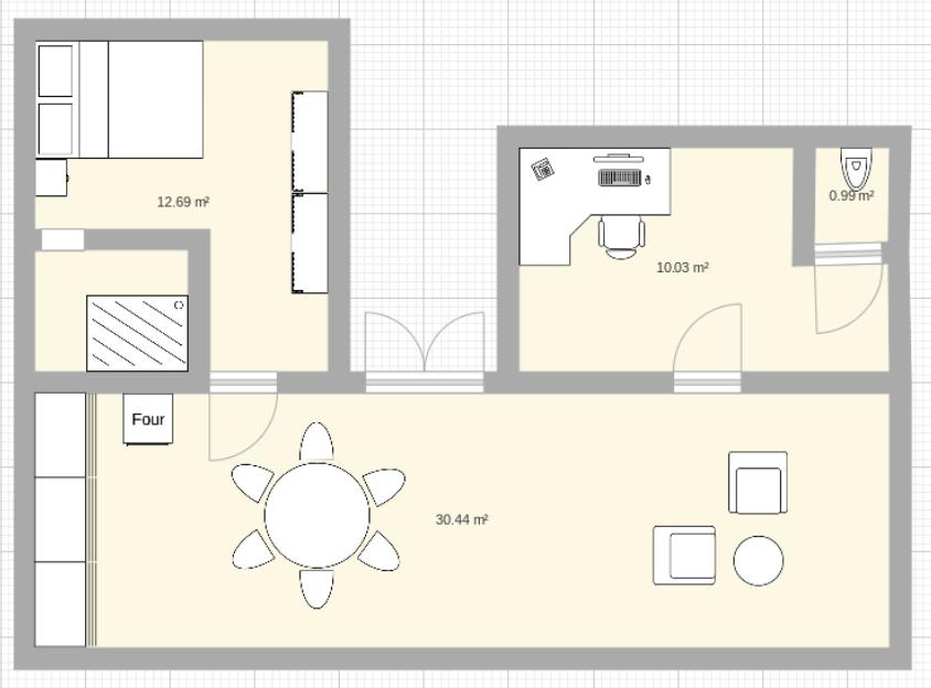 Présentation de l'appartement Screen23