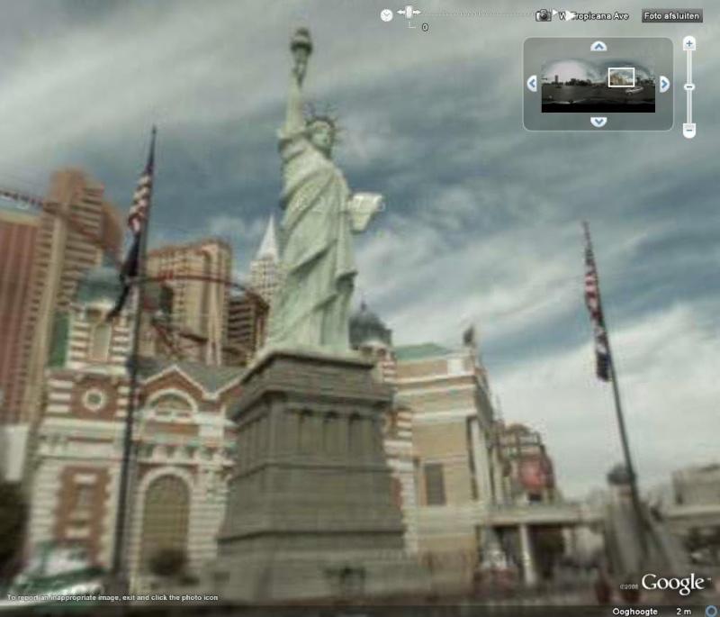 Statue de la Liberté = les répliques découvertes grâce à Google Earth Sddl10