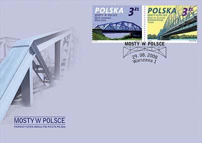 Brücken auf Briefmarken Brucke11