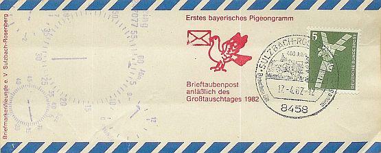 Erstflüge, Sonderflüge und neue Ballonpost - Seite 3 Pigeon10